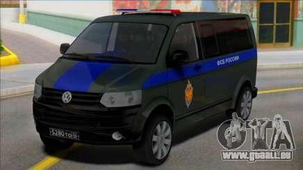 Volkswagen Transporter T5 FSB of Russia für GTA San Andreas