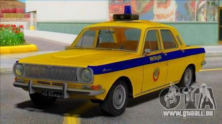 Gaz-24 Volga Police de la police de l'URSS pour GTA San Andreas