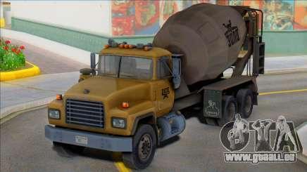 1992 Mack RD690 Cement Mixer Truck IVF pour GTA San Andreas
