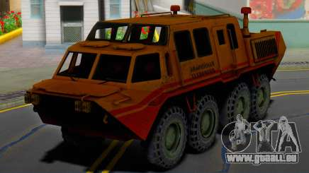 Die GAZ-59037 - AAA für GTA San Andreas