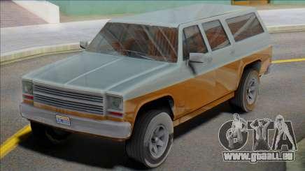 1976 Chevrolet Suburban (Rancher XL style) für GTA San Andreas