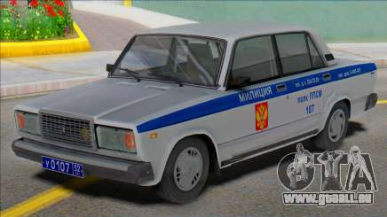 Vaz 2107 PPP Police 2004 pour GTA San Andreas