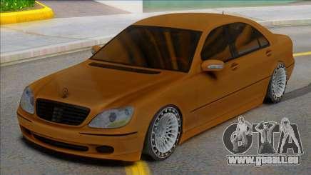Mercedes-Benz S-class W220 4matic für GTA San Andreas