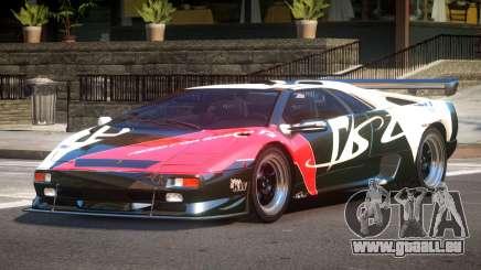 Lamborghini Diablo Super Veloce L7 für GTA 4