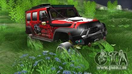 Jeep Wrangler Rubicon Caterpillar pour GTA San Andreas