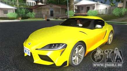 Toyota GR Supra pour GTA San Andreas