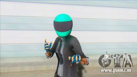 PAYDAY 2 - Sydney With Biker Helmet pour GTA San Andreas