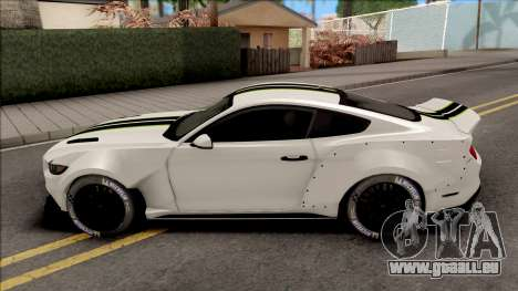 Ford Mustang 2015 NFS Payback Impoved pour GTA San Andreas