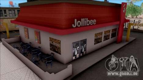 Jollibee Store Los Santos für GTA San Andreas