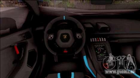 Lamborghini Huracan STO 2020 pour GTA San Andreas