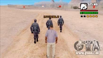 Invisiblity pour GTA San Andreas