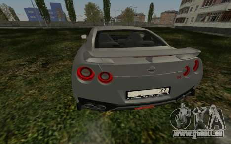 Nissan GT-R R35 SA pour GTA San Andreas
