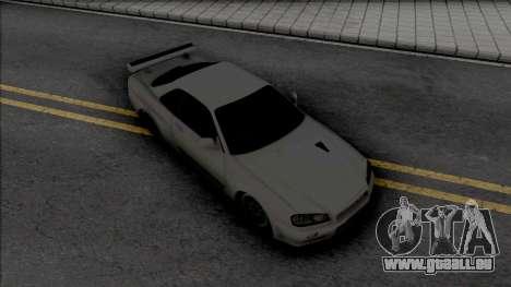 Nissan Skyline GT-R R34 2002 pour GTA San Andreas