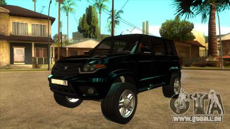 UAZ PATRIOT 78RUS pour GTA San Andreas
