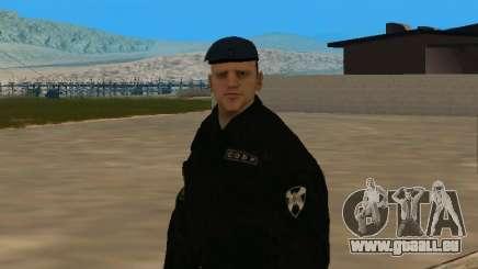 Sobr employé de peau pour GTA San Andreas