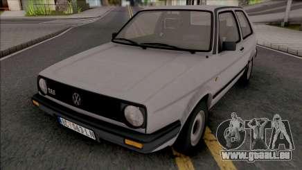 Volkswagen Golf MK2 TAS JX [2 Door] pour GTA San Andreas