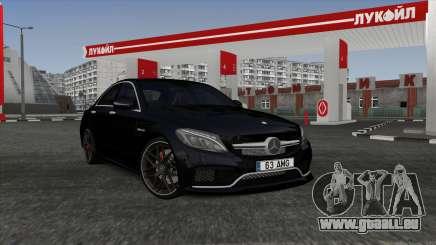 Mercedes-Benz C63s W205 pour GTA San Andreas