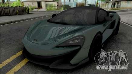 McLaren 600LT (SA Lights) pour GTA San Andreas