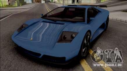 GTA V Pegassi Infernus Restructured [IVF] pour GTA San Andreas