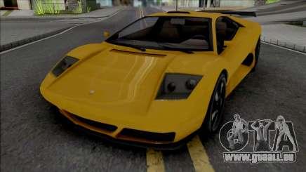 GTA V Pegassi Infernus Restructured pour GTA San Andreas