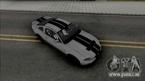 Ford Shelby GT500 2013 (SA Lights) pour GTA San Andreas