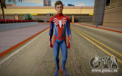 Spider Man PS5 Advanced unmasked Ben Jordan pour GTA San Andreas