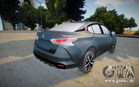 Nissan Versa 2020 (interior lowpoly) pour GTA San Andreas