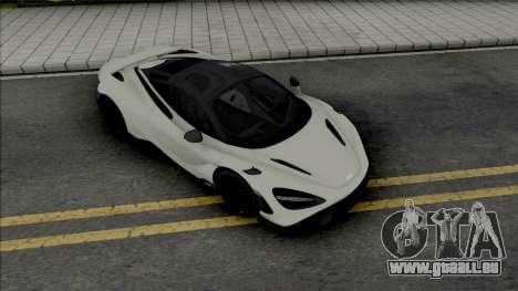 McLaren 765LT 2020 pour GTA San Andreas