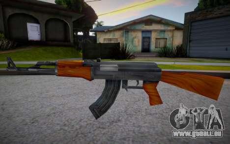 AK-47 from Counter Strike pour GTA San Andreas
