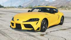 Toyota GR Supra (A90) 2019 v2.0〡add-on pour GTA 5