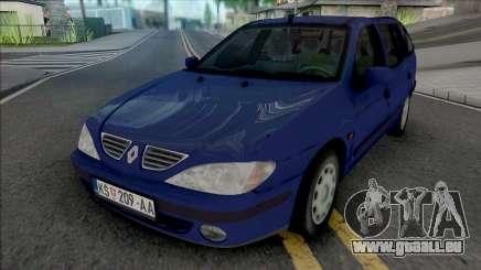 Renault Megane Break 2000 pour GTA San Andreas