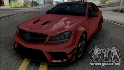 Mercedes-Benz C63 AMG Black Series (CSR Racing) pour GTA San Andreas