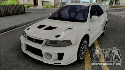 Mitsubishi Lancer Evolution V RS Edited für GTA San Andreas