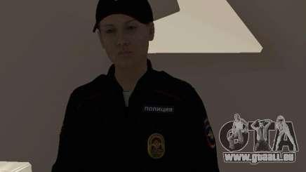 Employé du ministère russe de l'Intérieur pour GTA San Andreas