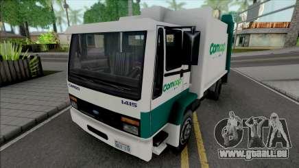 Ford Cargo 1415 Garbage Truck Comcap SC für GTA San Andreas