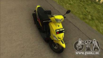Yamaha Mio pour GTA Vice City
