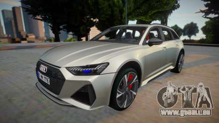 Audi RS6 2020 Silver Style pour GTA San Andreas