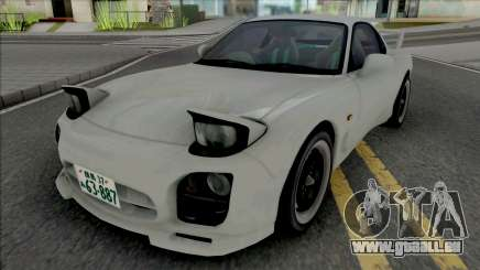 Mazda RX-7 FD3s A-Spec Initial D 4th Stage pour GTA San Andreas