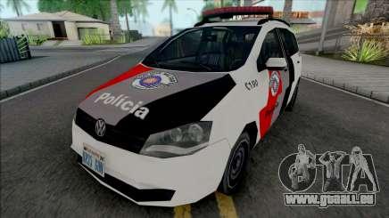 Volkswagen Spacefox 2012 PMESP pour GTA San Andreas