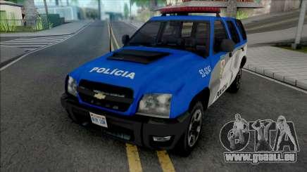 Chevrolet Blazer Advantage 2009 PMERJ pour GTA San Andreas