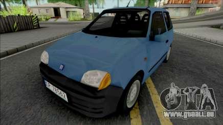 Fiat Seicento Blue pour GTA San Andreas
