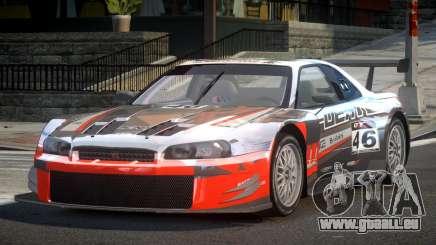 Nissan Skyline R34 G-Custom L9 pour GTA 4