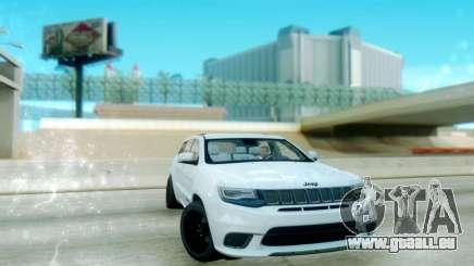 Jeep Grand Cherokee Black Rims für GTA San Andreas