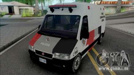 Fiat Ducato PMESP pour GTA San Andreas