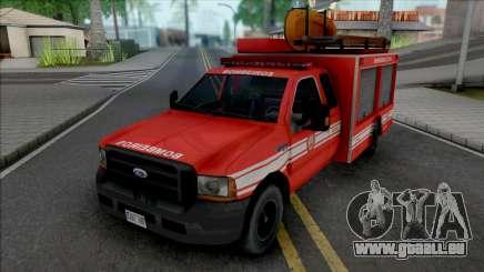 Ford F4000 Fire Brigade pour GTA San Andreas