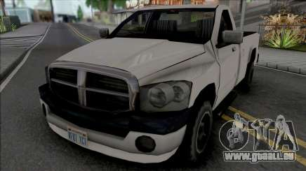 Dodge Ram 2500 2008 Improved pour GTA San Andreas