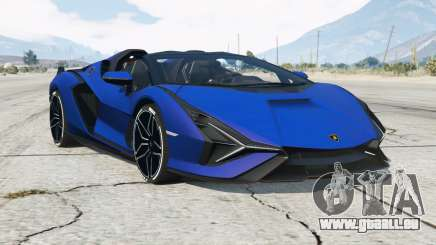 Lamborghini Sian Roadster 2020〡add-on pour GTA 5