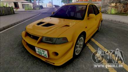 Mitsubishi Lancer Evolution VI GSR T.M.E Edited pour GTA San Andreas