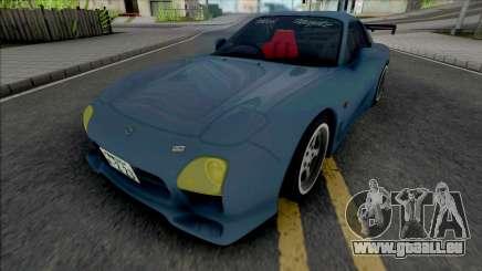 Mazda RX-7 FD3S A-Spec Wangan pour GTA San Andreas