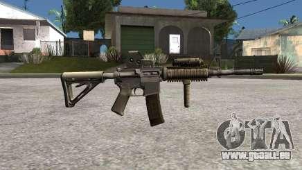 M4 Camo pour GTA San Andreas